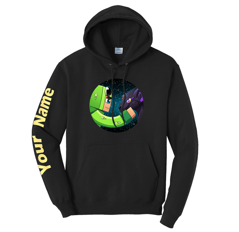 Special Edition Custom sleeve Hoodie (BACK IN STOCK!)