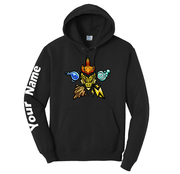 Elemental Nation Custom Sleeve Hoodie