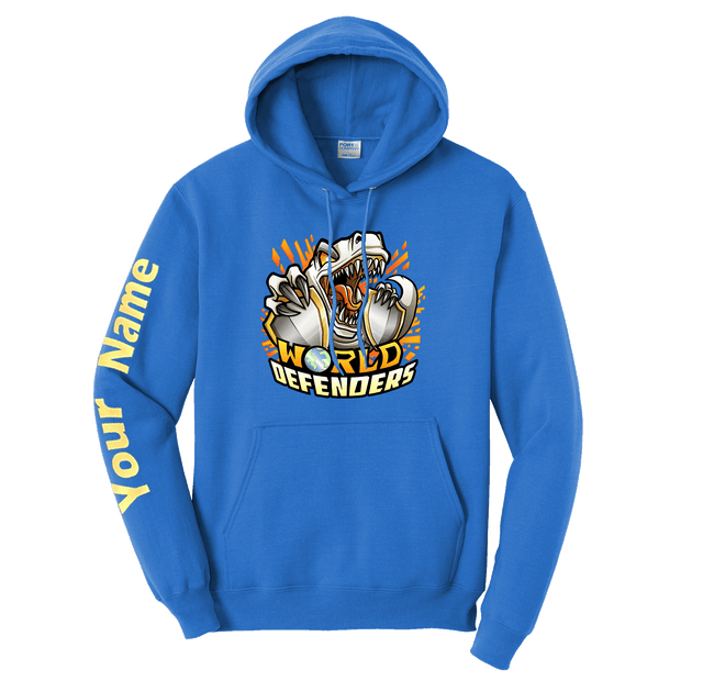 World Defenders Custom Sleeve Hoodie