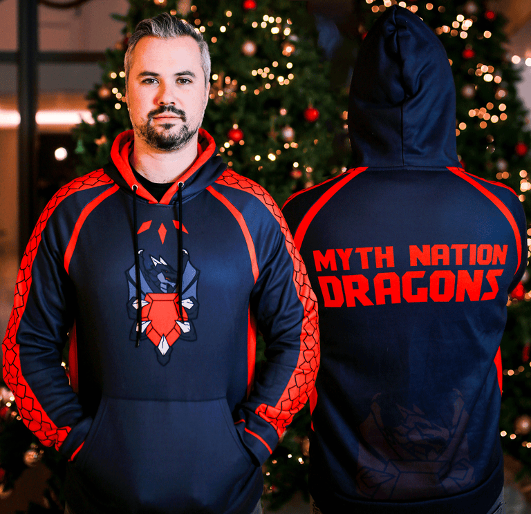 Alpha Dragon Hoodie with Free Items! Selling out fast