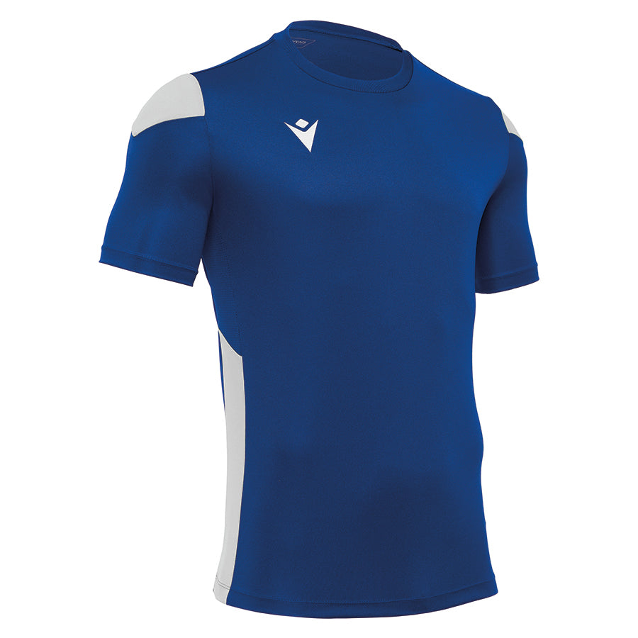 Polis Shirt Royal Blue/White