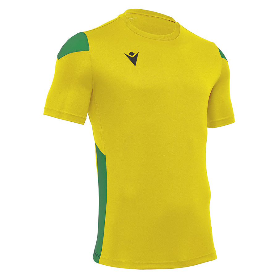 Polis Shirt Royal Yellow/Green