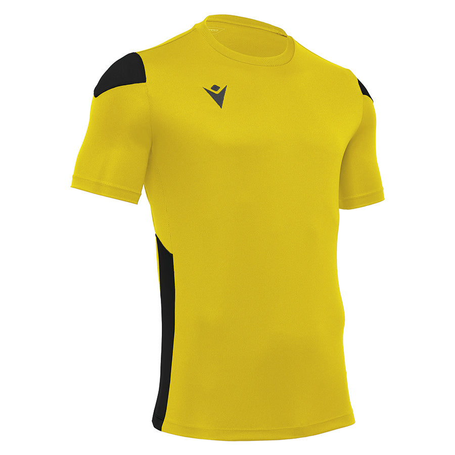 Polis Shirt Royal Yellow/Black