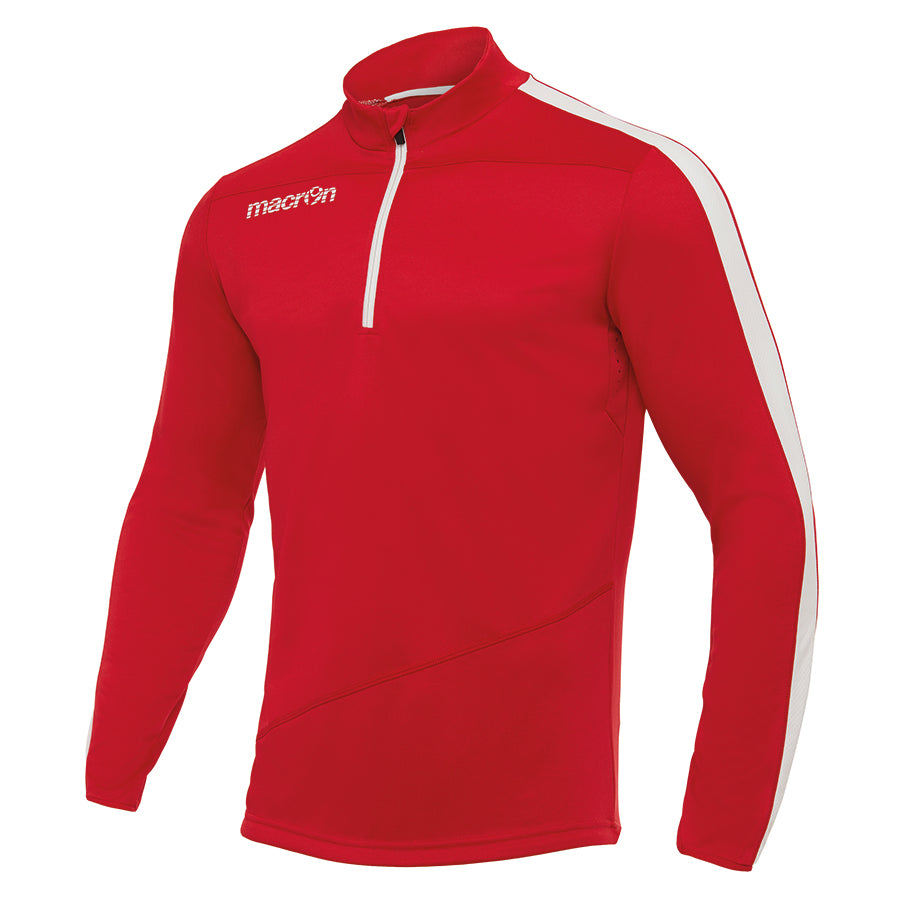 Talent 1/4 Zip Top Red/White