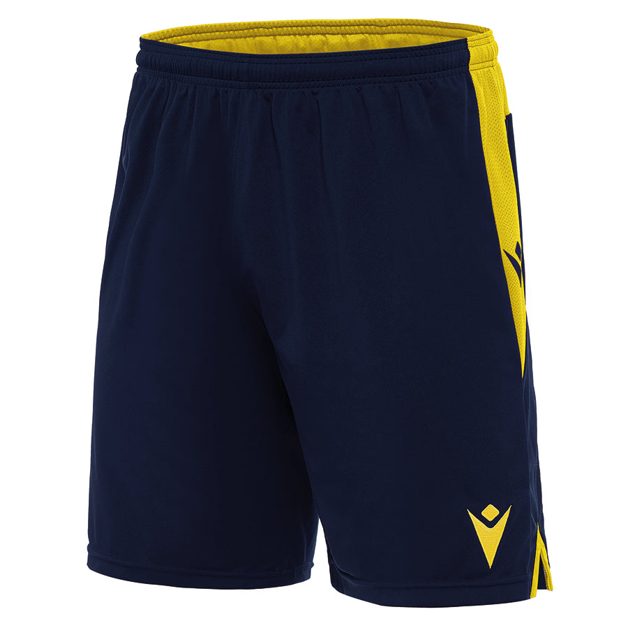 Tempel Shorts Navy/Yellow