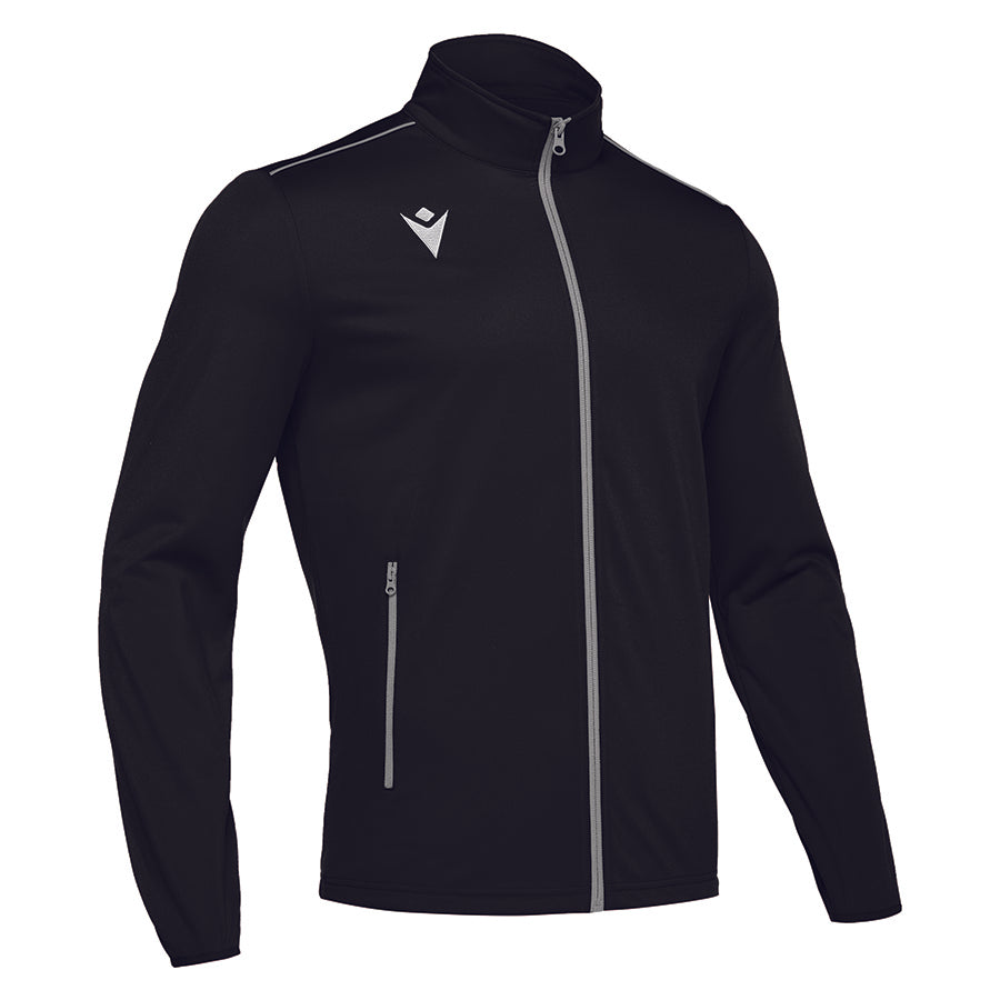 Nemesis Full Zip Top Black