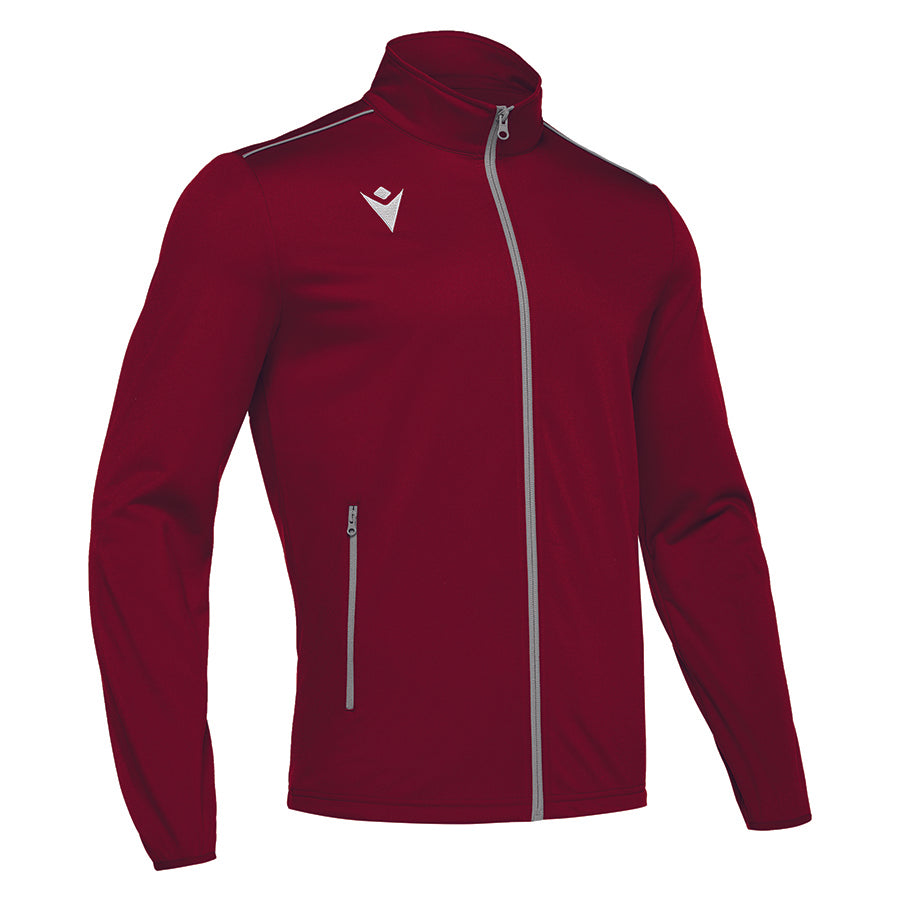 Nemesis Full Zip Top Cardinal