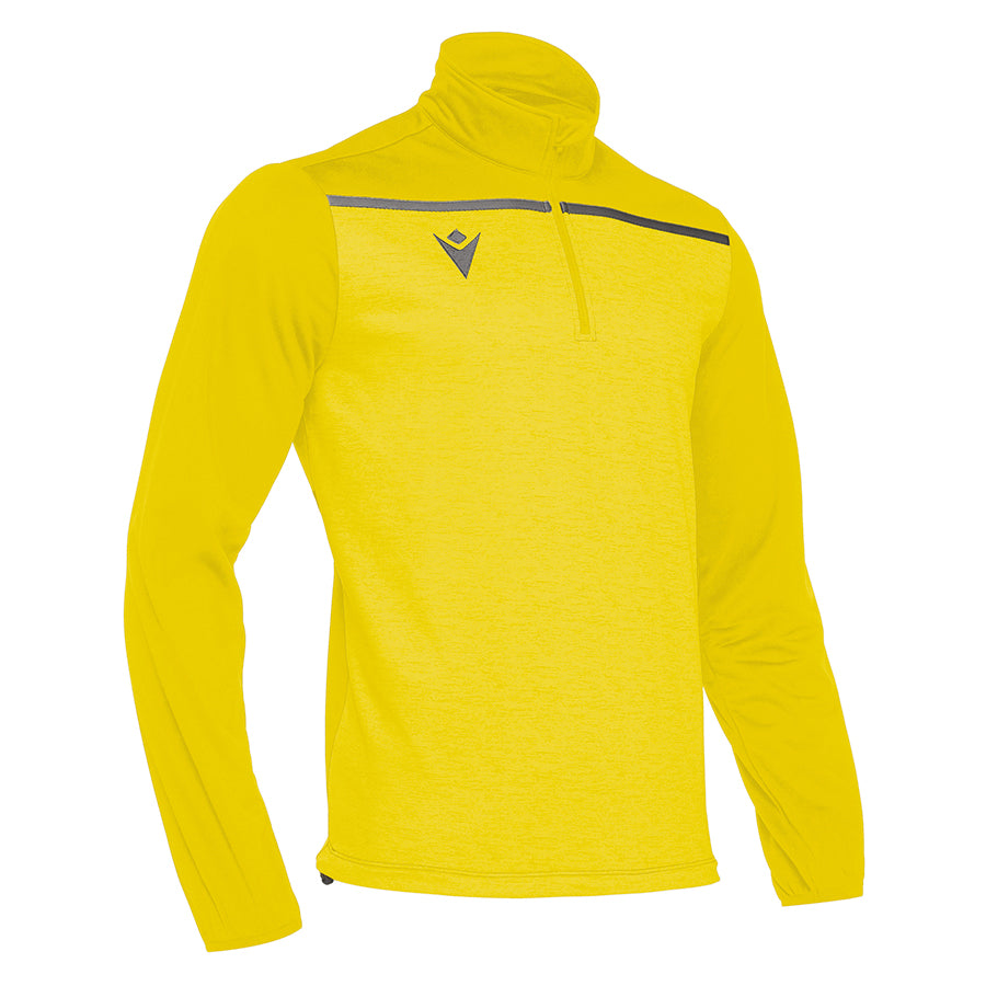 Rhine 1/4 Zip Top Yellow/Anthracite