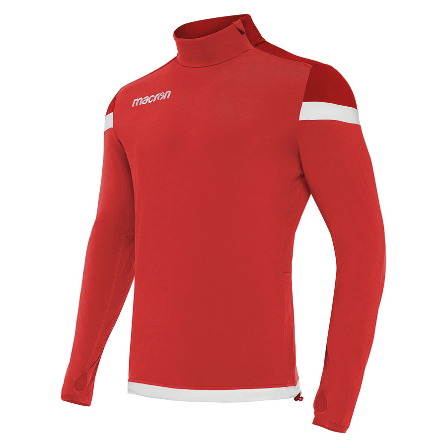 Tigris 1/4 Zip Top Red/White