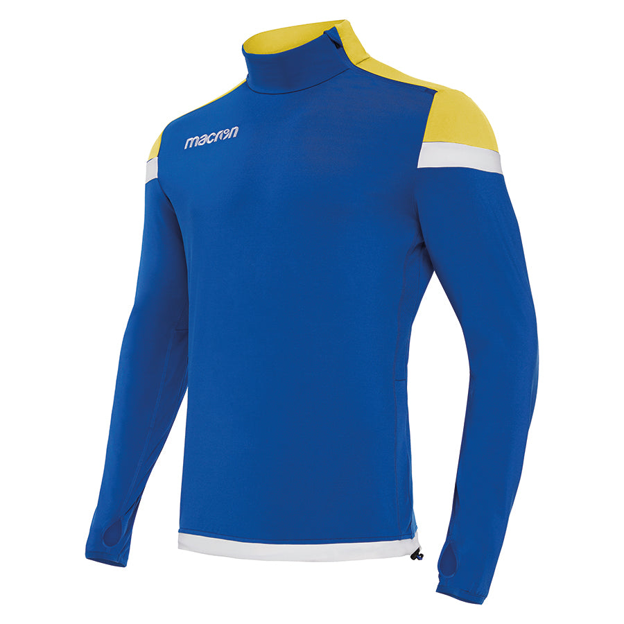 Tigris 1/4 Zip Top Royal Blue/Yellow/White