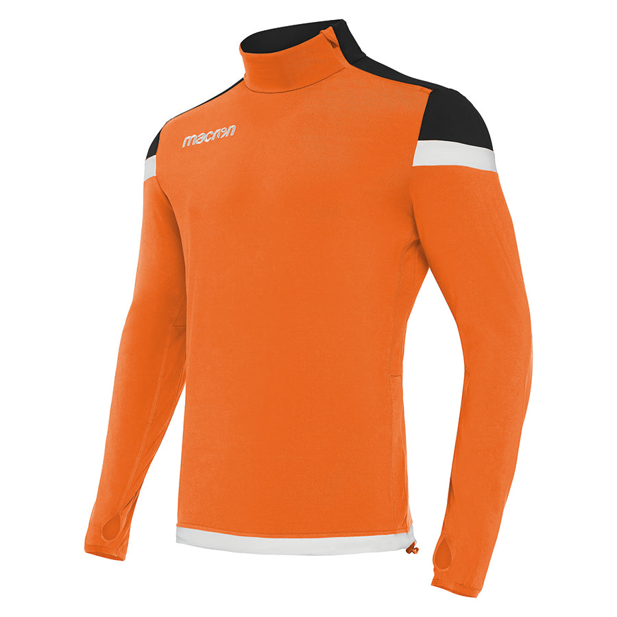 Tigris 1/4 Zip Top Orange/Black