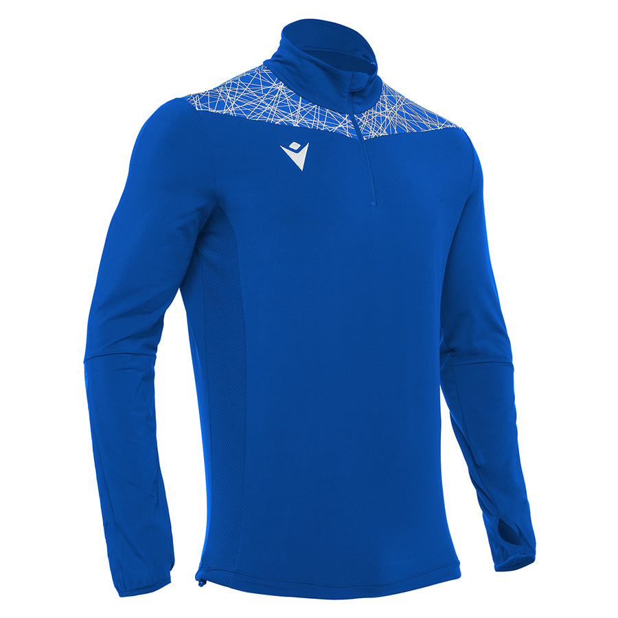 Tiber 1/4 Zip Top Royal Blue/White