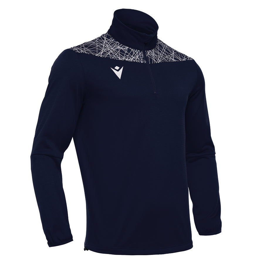 Tagus 1/4 Zip Top Navy/White