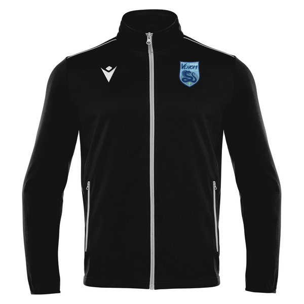 Byford Venom Futsal Club Full Zip Top Black