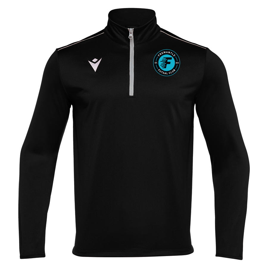 Fremantle FC Havel 3/4 Zip Black (Player)