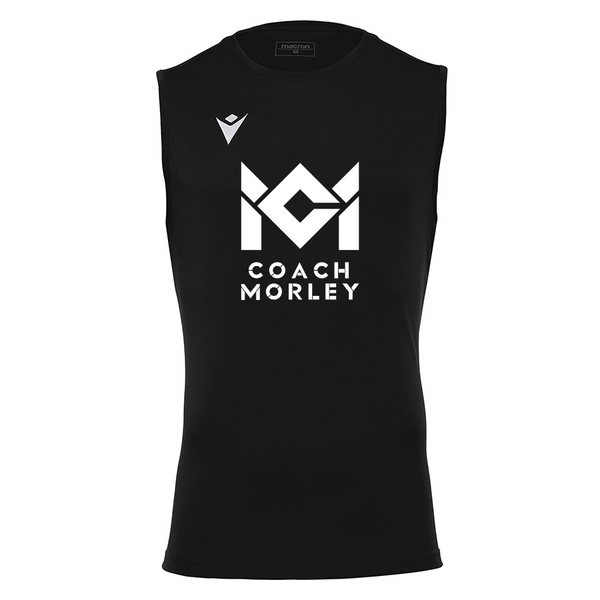 Coach Morley Black Sleeveless Top