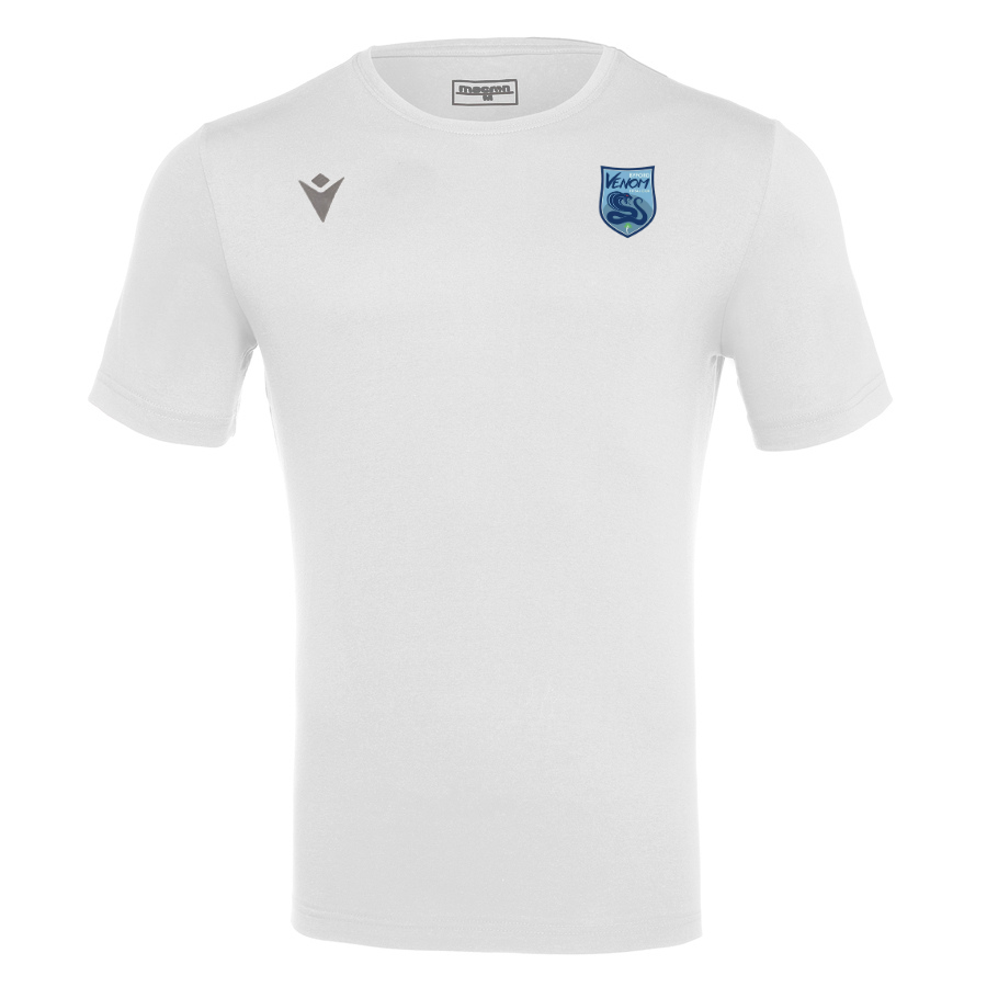 Byford Venom Futsal Club Cotton T-Shirt White