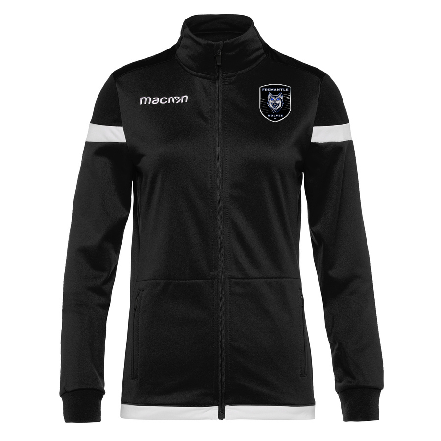 Anuket Full Zip Top Black White