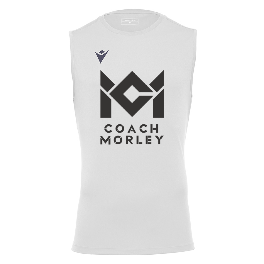Coach Morley White Sleeveless Top