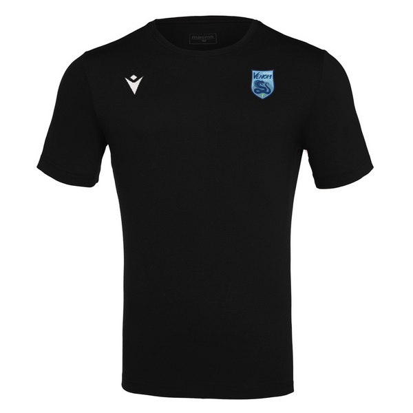 Byford Venom Futsal Club Cotton T-Shirt Black