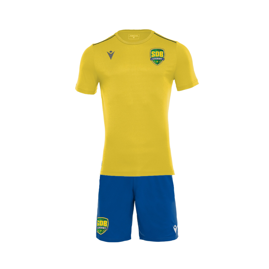 Soccer De Brazil Official Macron Kit (Yellow and Blue)