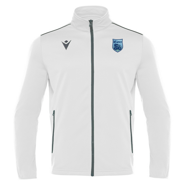 Byford Venom Futsal Club Full Zip Top White