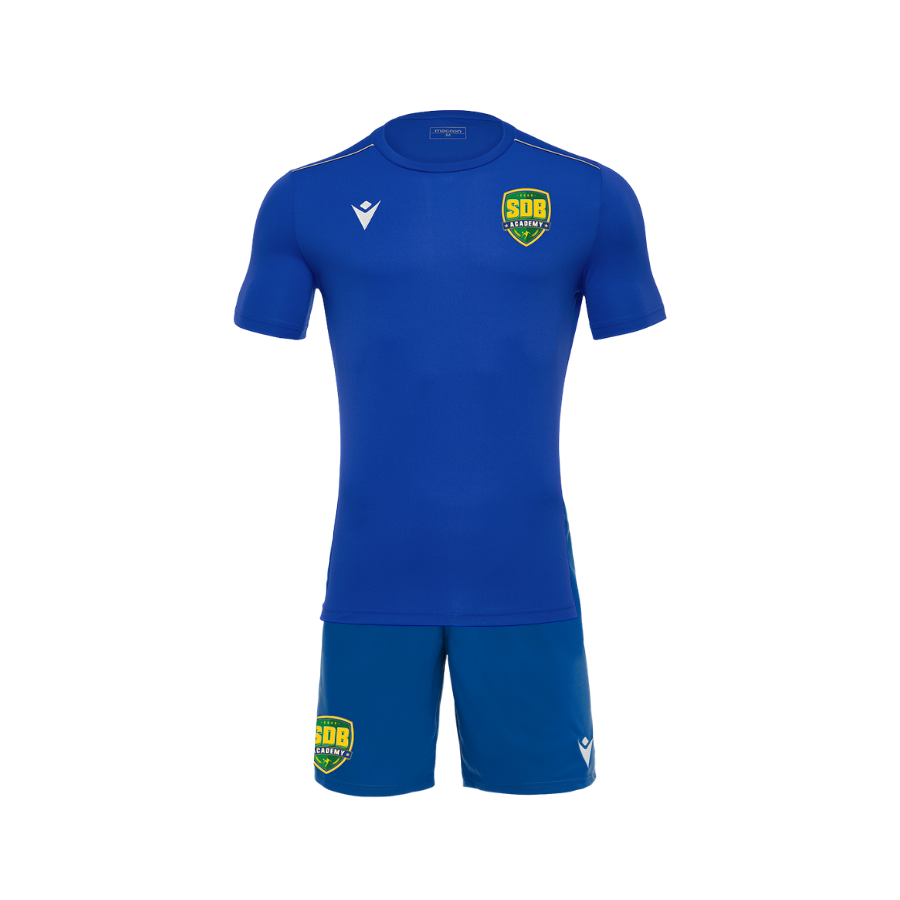 Soccer De Brazil Official Macron Kit (Blue)