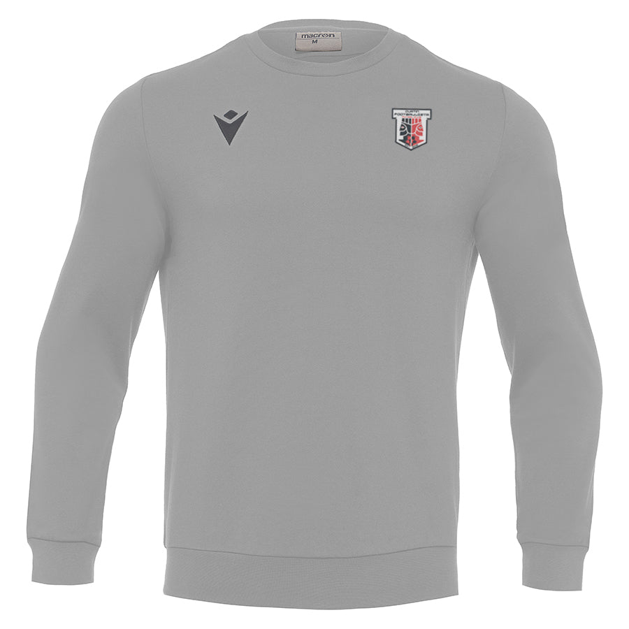 Curtin Footballista jumper grey