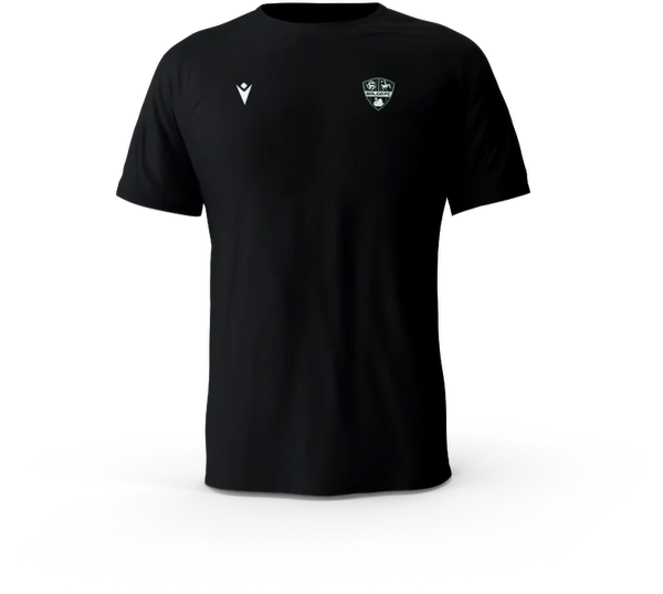 Balga FC Boost Hero T-Shirt Black Small Logo