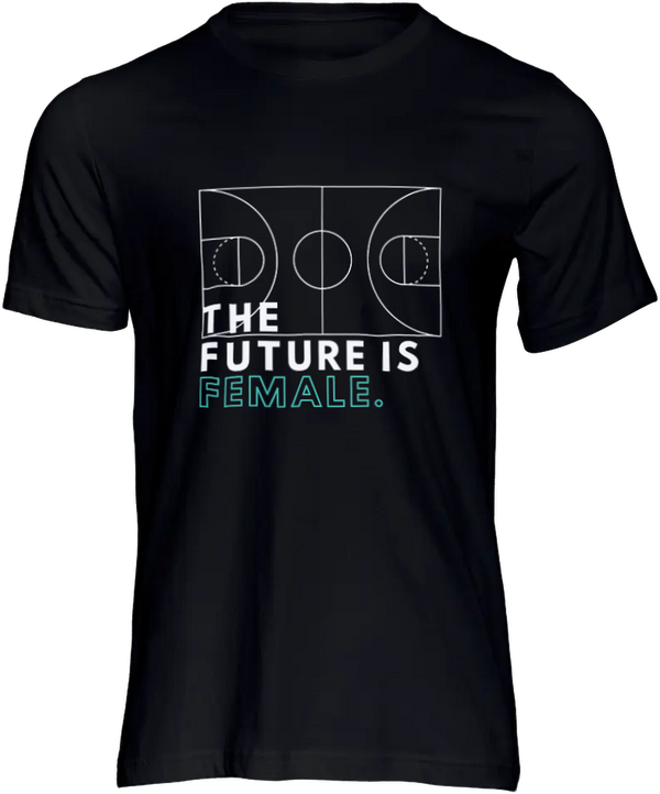 Her Hoops The Future Is Female Shirt