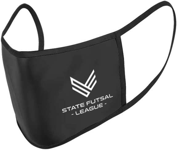 State Futsal League Face Mask