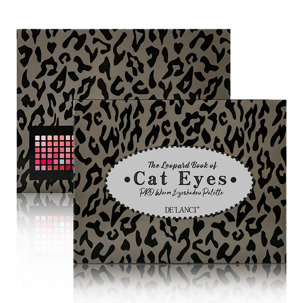 DE'LANCI Cat Eyes 48 Colors Eyeshadow Palette