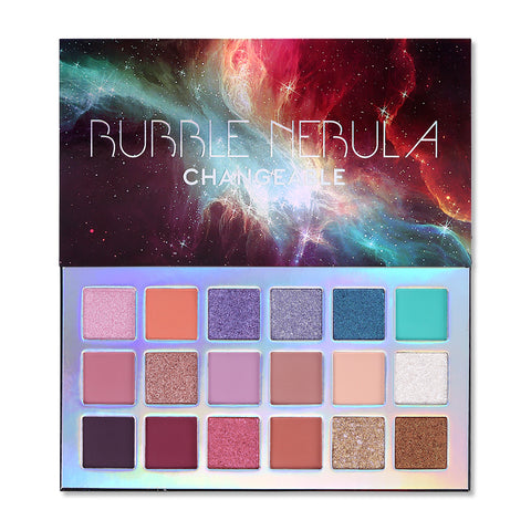 Ucanbe Changeable 18 Color Bubble Nebula Eyeshadow Palette