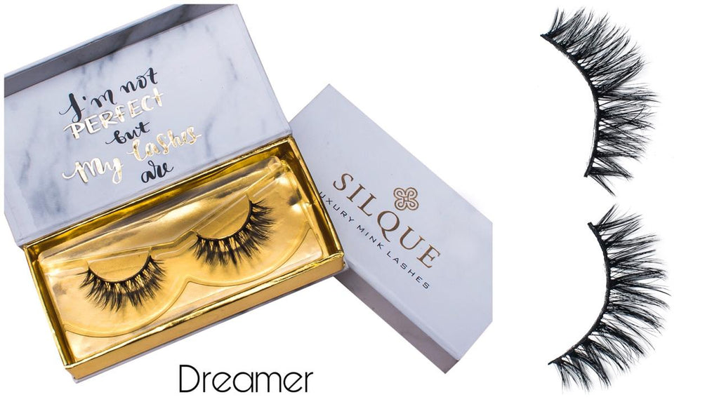 Silque Thick Hair Longlasting Luxury Mink Eye Lashes Dreamer