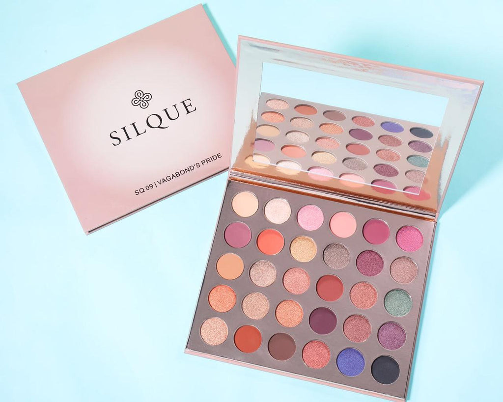 Silque Vaga Bond 30 Color Eye Shadow Palette Set