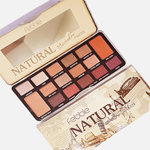FEEBLE Eyes Febble Natural 16 Eye shadow palette