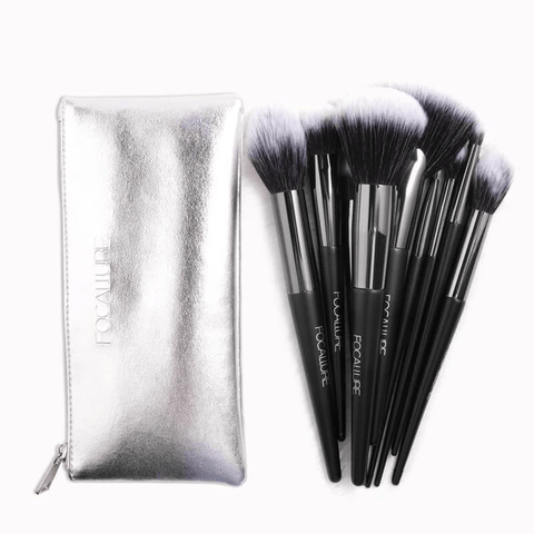 FOCALLURE Accessories Focallure 10pcs Makeup Brushes Set
