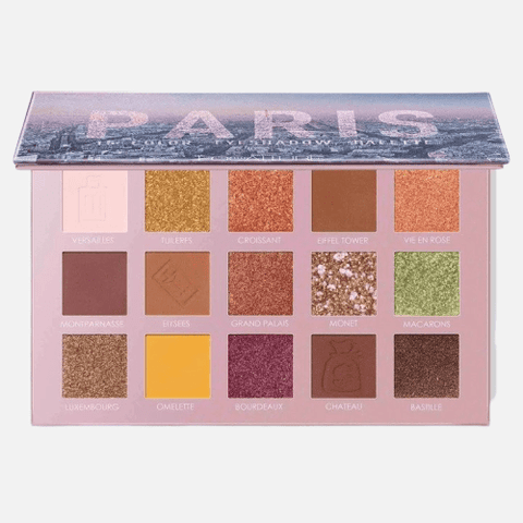 FOCALLURE Eyes Focallure PARIS basic warm shades Eyeshadow Palette.