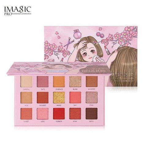 IMAGIC Eyes Imagic Baby Cute 15 Colors Eyeshadow Palette