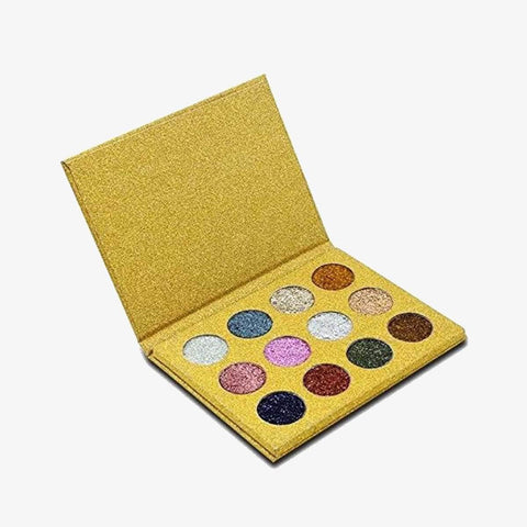 IMAGIC Eyes Imagic Eye shadow-12 Glitter Palette Shade #1