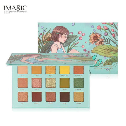 IMAGIC Eyes Imagic High Heels 15 Colors Eyeshadow Palette