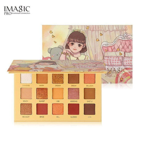 IMAGIC Eyes Imagic Wedding Dream 15 Colors Eyeshadow Palette