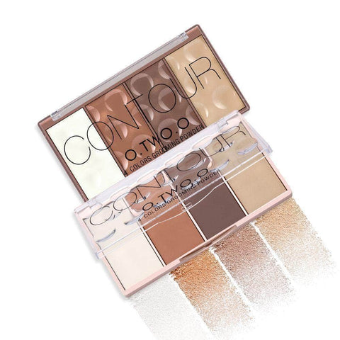 O.T.WOO Face O.Two.O  Radiant Contour 4 in 1 Pallet