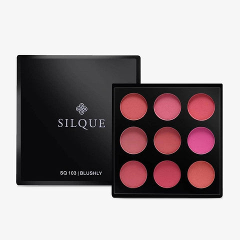 Silquebeauty Eyes Silque Blushly Eyeshadow Palette - 9 Shades