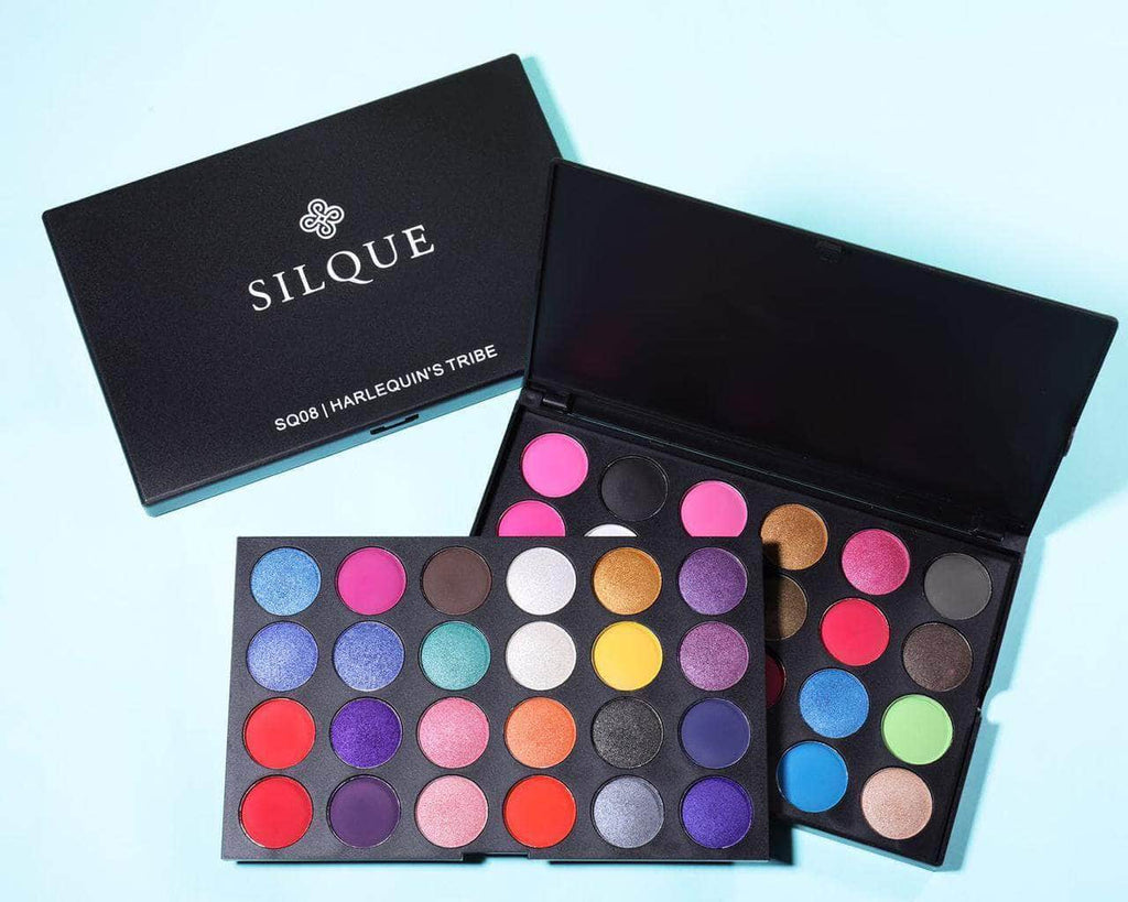 Silquebeauty Silque Harlequin's Tribe 30 Colors Eyeshadow Palette