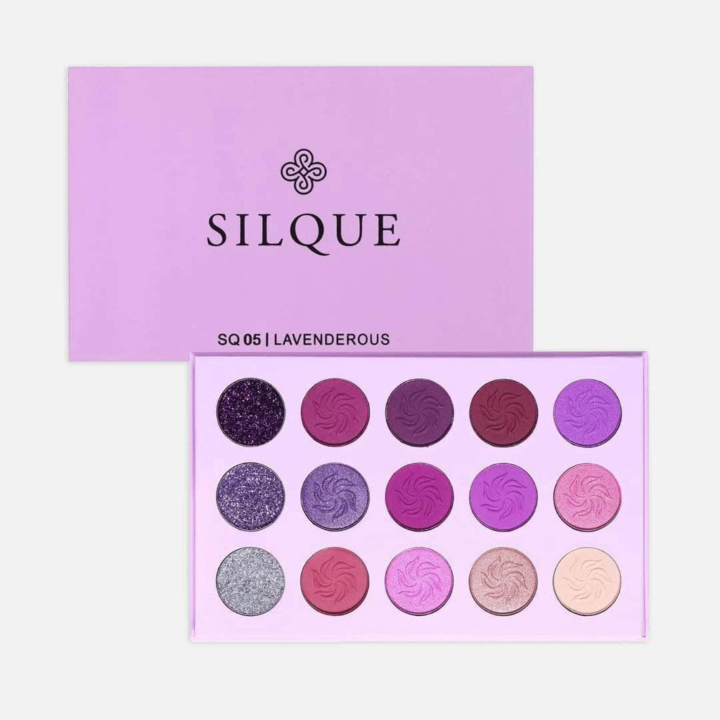 Silquebeauty Eyes Silque Lavenderous Eye Shadow - 15 palette