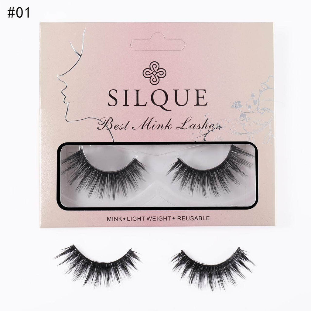 Silquebeauty Lashes Silque Thick Hair Long Lasting Mink Eye Lashes