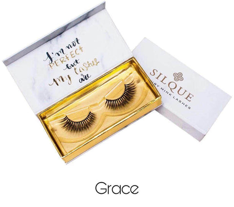 Silquebeauty Lashes Silque Thick Hair Longlasting Luxury Mink Eye Lashes Grace