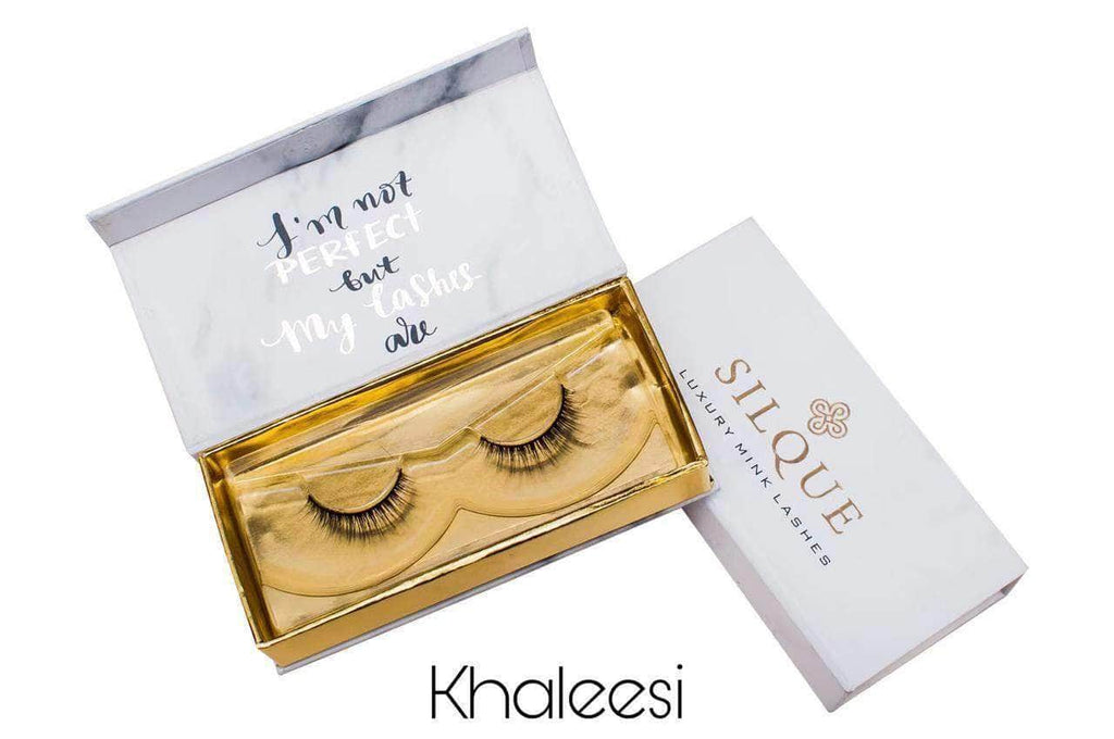 Silquebeauty Lashes Silque Thick Hair Longlasting Luxury Mink Eye Lashes Khaleesi