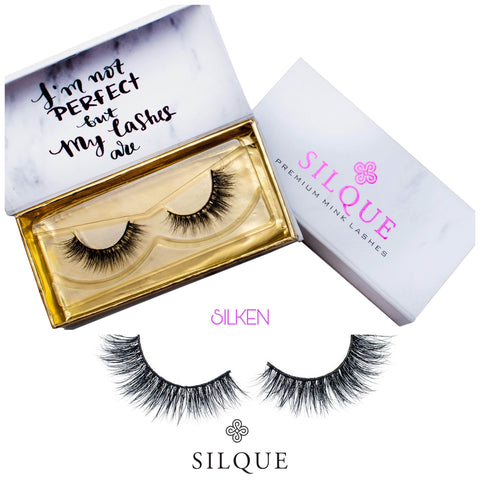 Silquebeauty Lashes Silque Thick Hair premium Eye lashes Silken